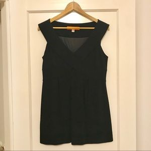 Cynthia Steffe Black Knit Tank Size S
